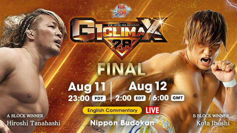 NJPW – G1 Climax 28 – Day 19 – Final – August 12th, 2018