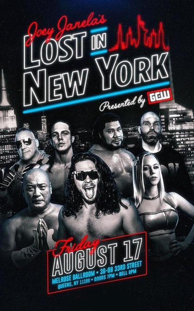 Joey Janela's Lost in New York on Fite TV – Results