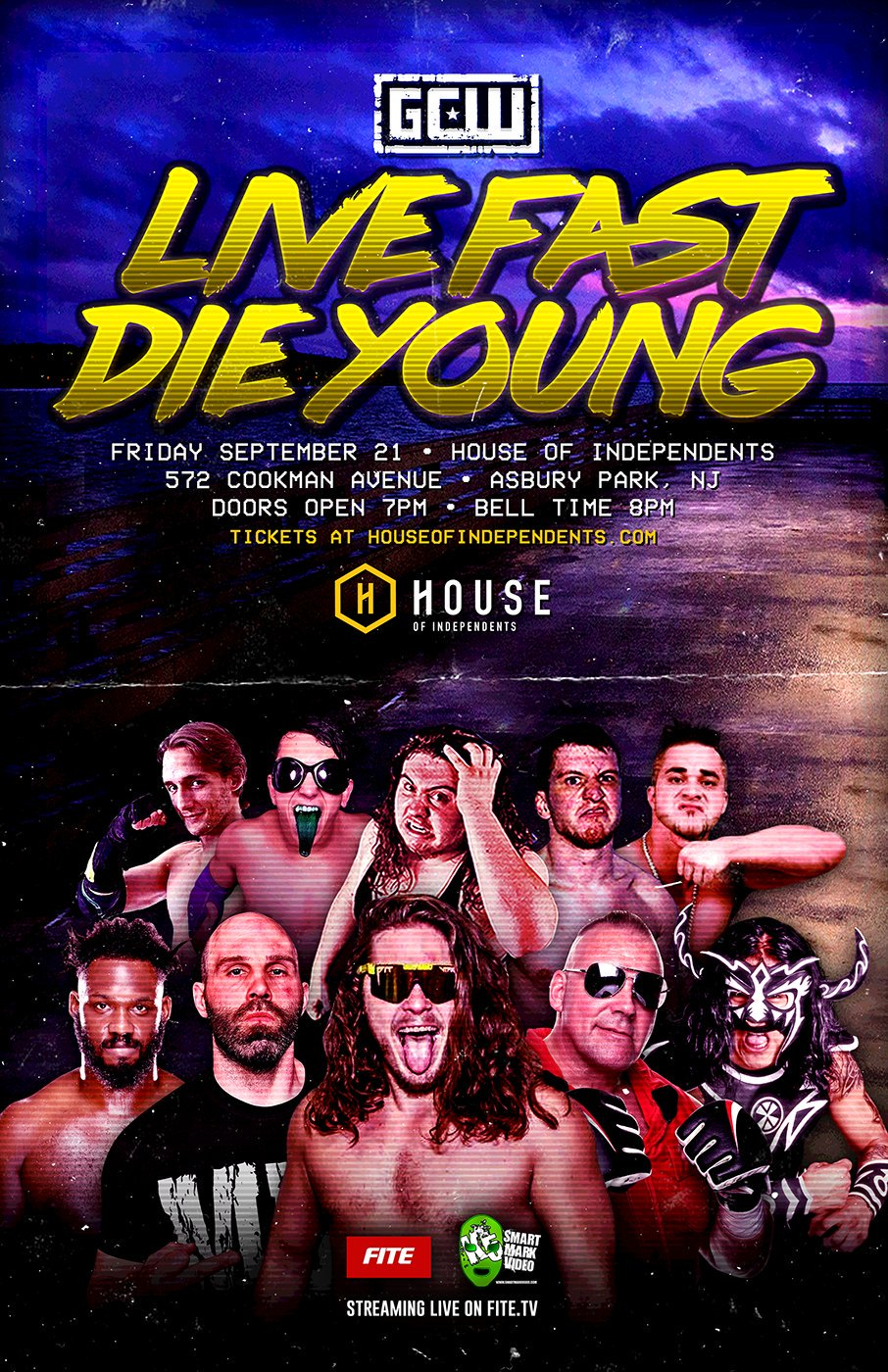 Game Changer Wrestling – Live Fast Die Young on Fite TV