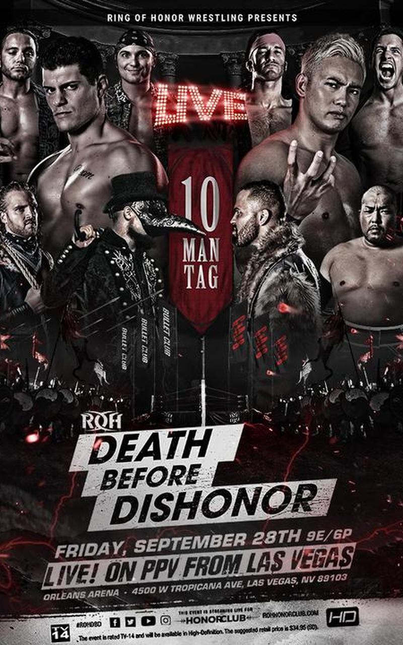ROH – Death Before Dishonor 2018 – Line-up