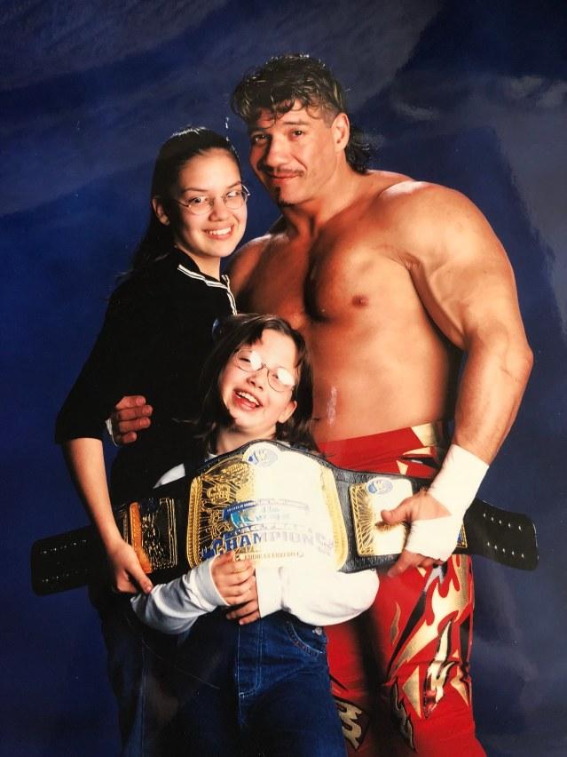 Shaul Guerrero, Eddie Guerrero & Sherilyn