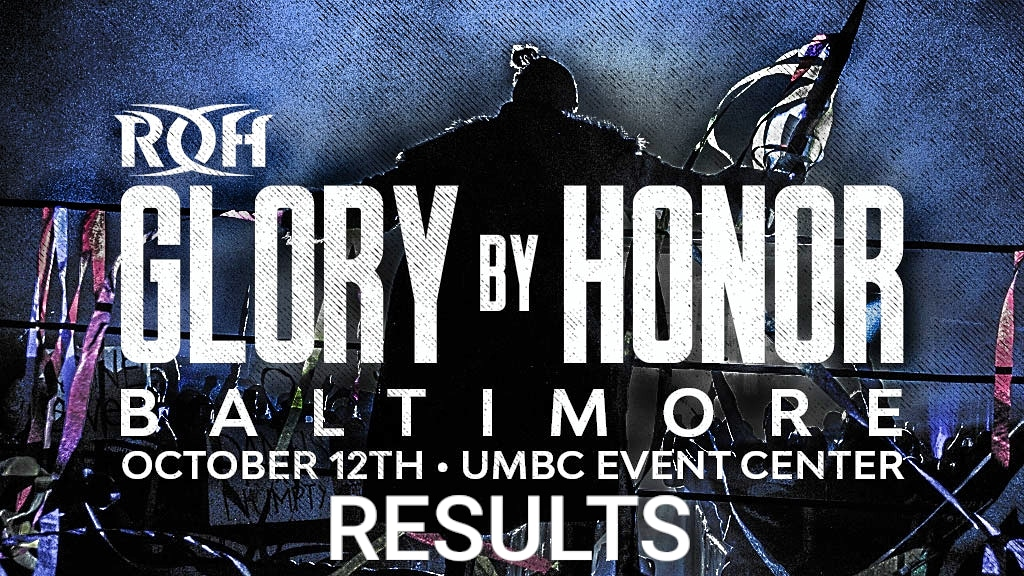 Ring Of Honor – Glory By Honor – Results