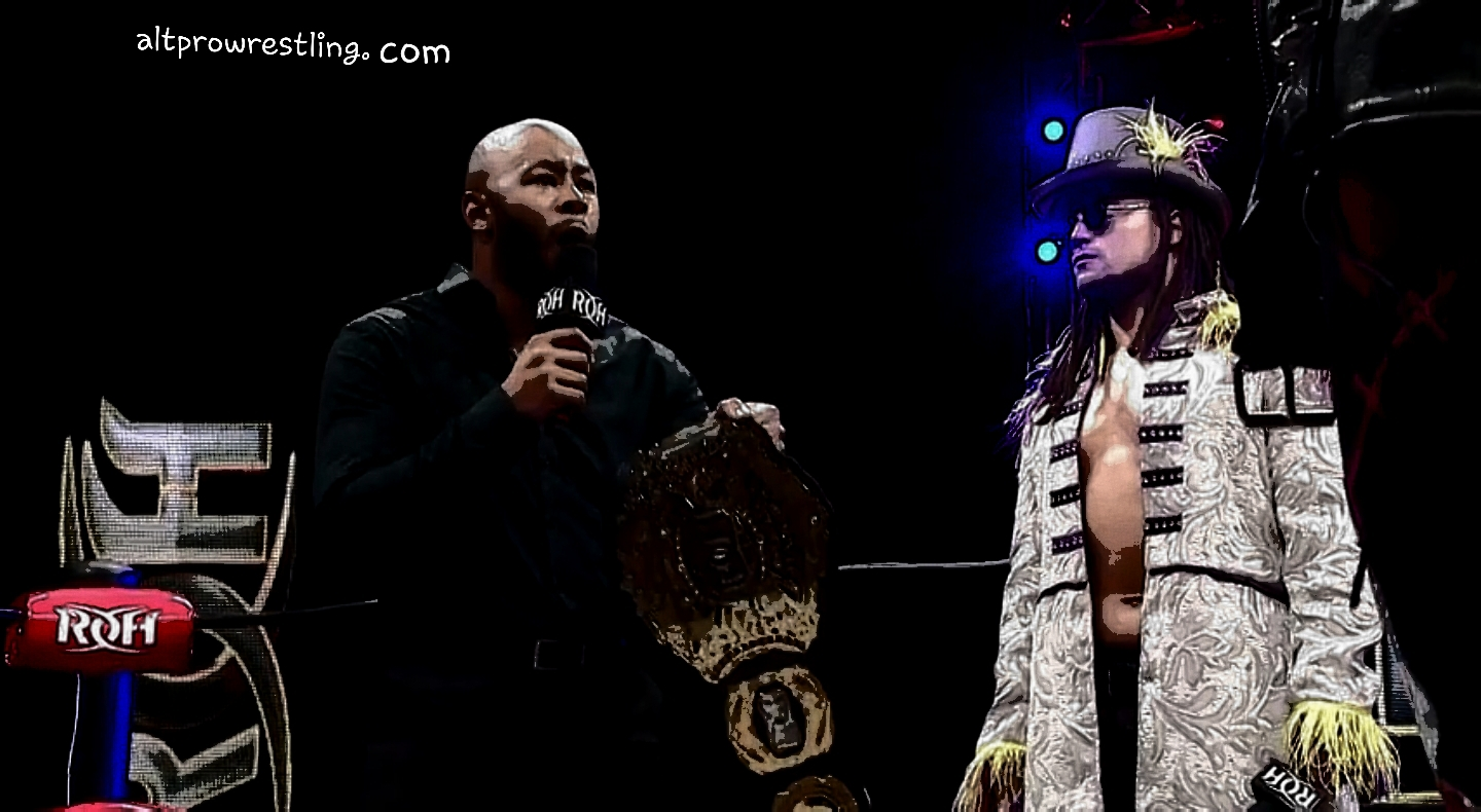 WATCH: LifeBlood challenges Jay Lethal – ROH