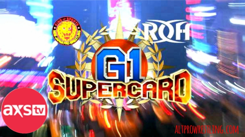 ROH NJPW – G1 Supercard – Results