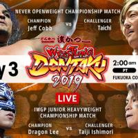 NJPW - Wrestling Dontaku - May 3rd, 2019 - Results
