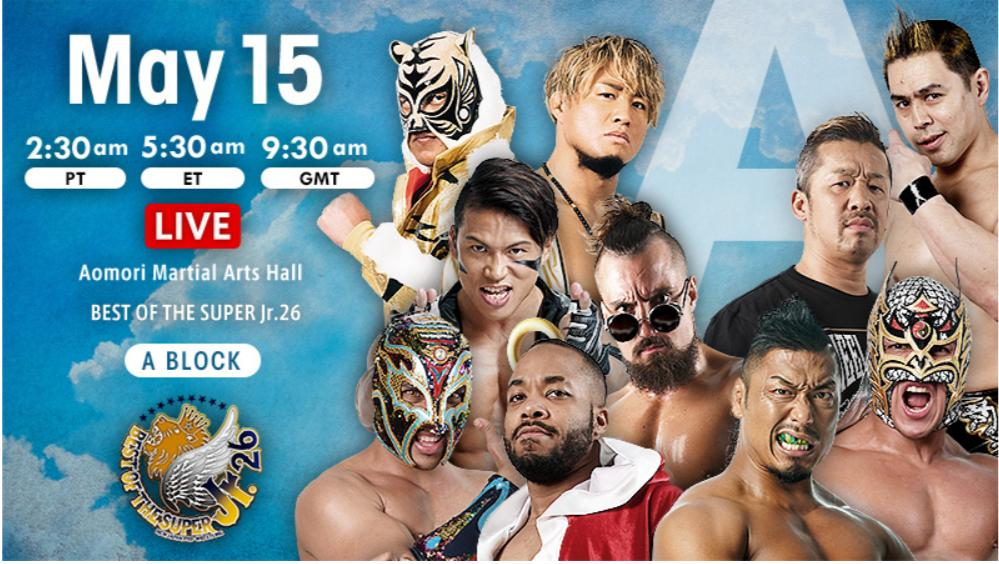 NJPW – Best of the Super Jr. 26, May 15, 2019 – Results