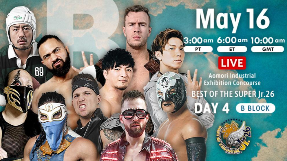 NJPW – Best of the Super Jr. 26, May 16, 2019 – Results