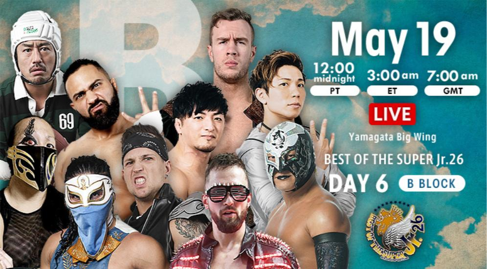 NJPW – Best of the Super Jr. 26, May 19, 2019 – Results