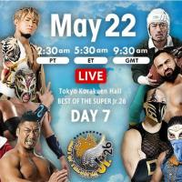 NJPW - Best of the Super Jr. 26, May 22, 2019 - Results