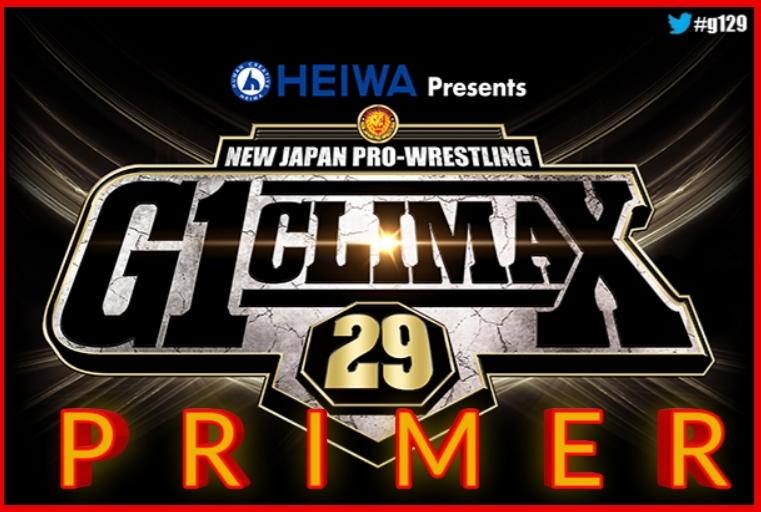 NJPW – G1 Climax 29 – PRIMER