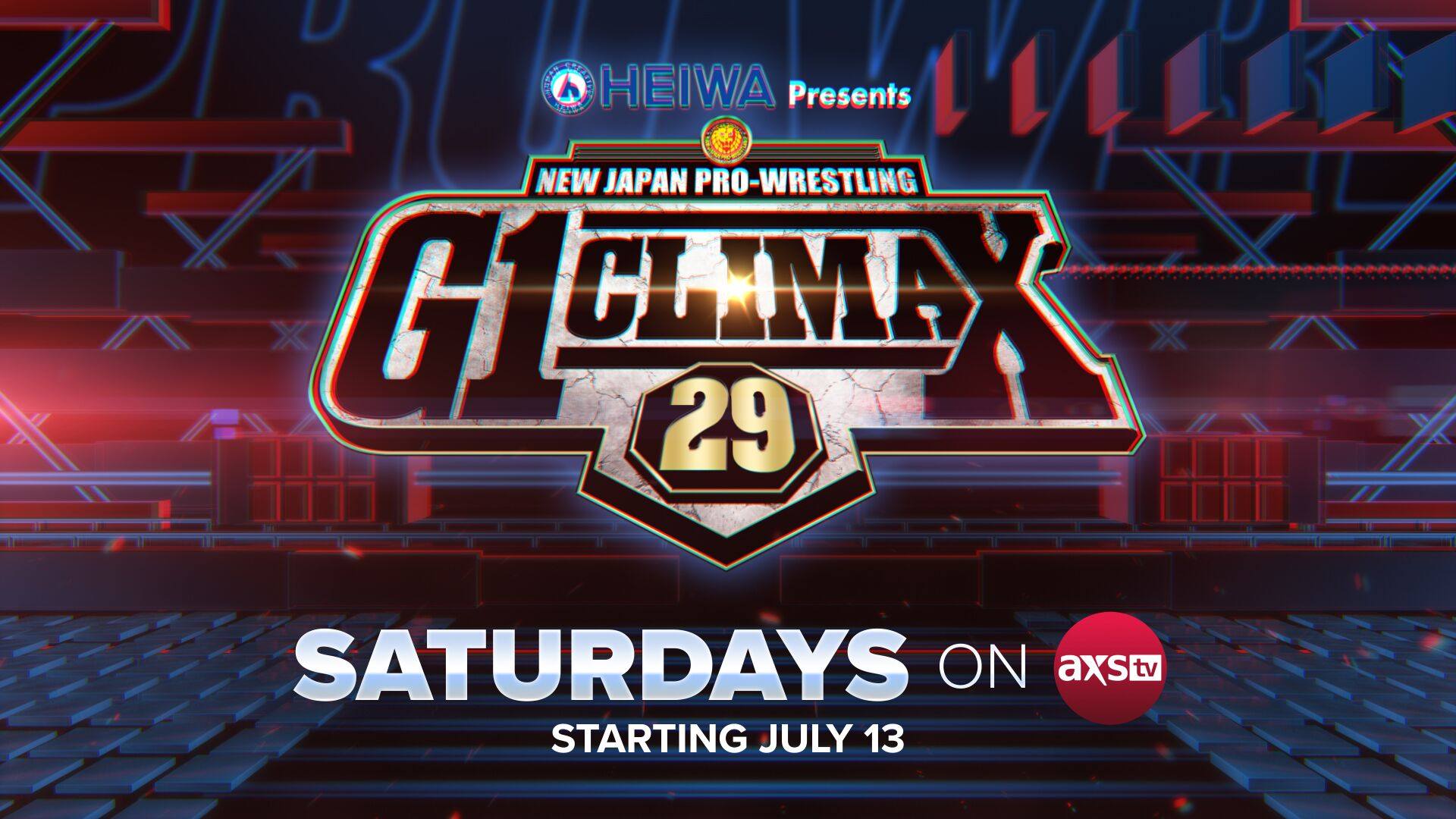 NJPW & WOW to air on Saturdays from July 13 on AXS TV