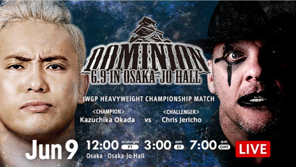 NJPW – Dominion June 9, 2019 – Full Results & Review