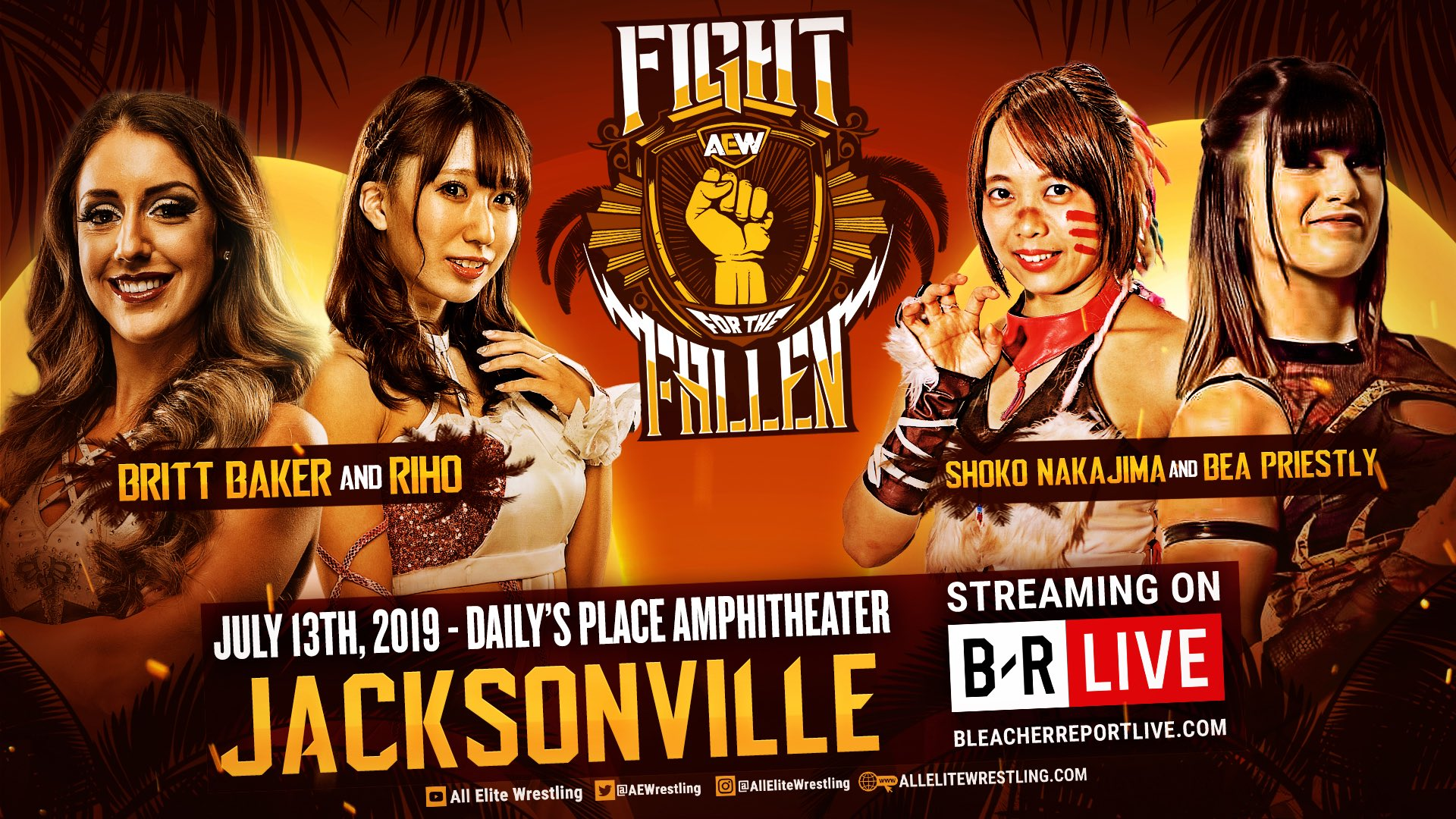 New Women's Match Announced For AEW's Fight For The Fallen