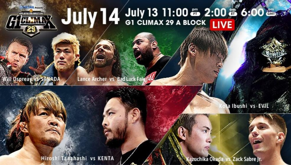 NJPW – G1 Climax 29, Night 3 – Results and Review