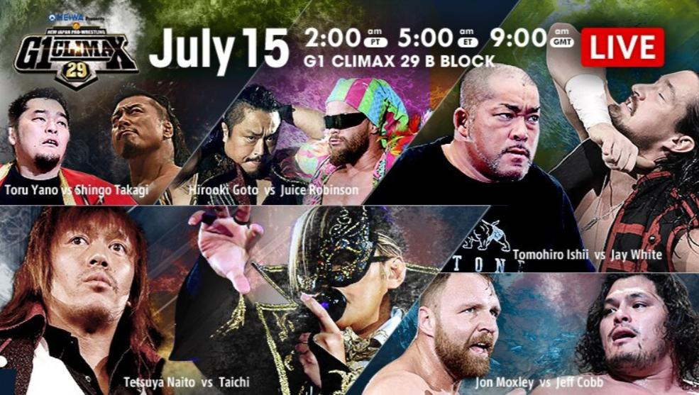 NJPW – G1 Climax 29, Night 4 – Results and Review