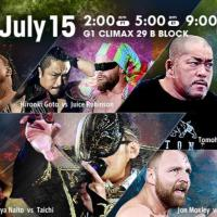NJPW - G1 Climax 29, Night 4 - Results and Review