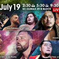 NJPW - G1 Climax 29, Night 6 - Results and Review