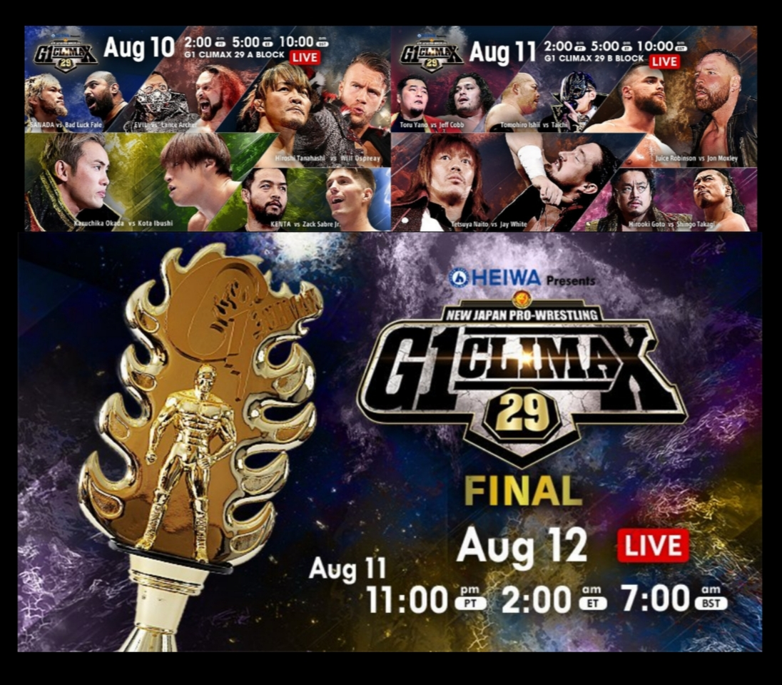 NJPW – Final Three Nights of G129 Block Matches – Results and Review