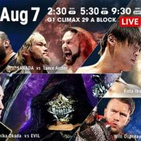 NJPW - G1 Climax 29, Night 15 - Results and Review