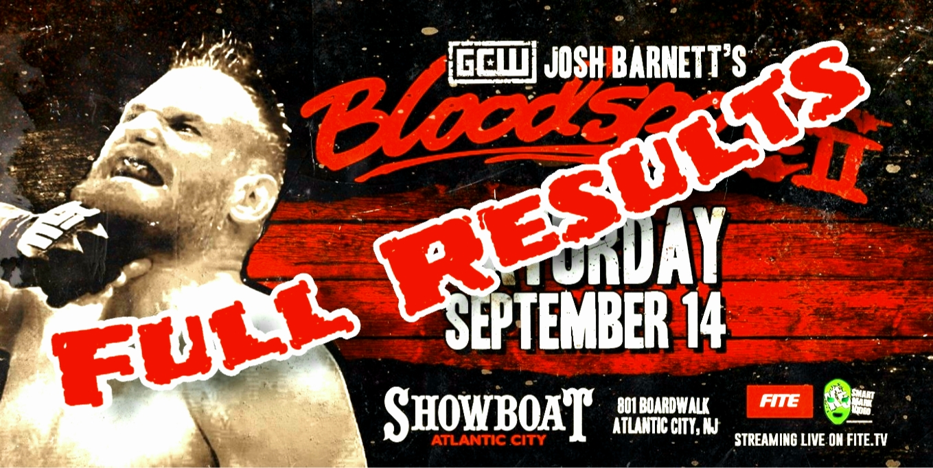 Game Changer Wrestling – Josh Barnett's Bloodsport II – Info & Full Results
