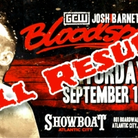 Game Changer Wrestling - Josh Barnett's Bloodsport II - Info & Full Results