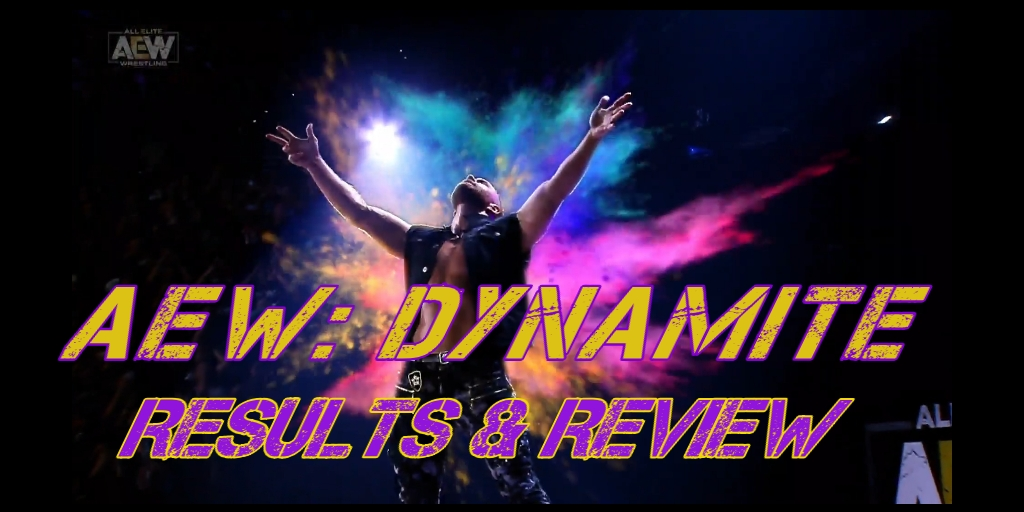 AEW Dynamite – Episode 10 – Full Results and Review