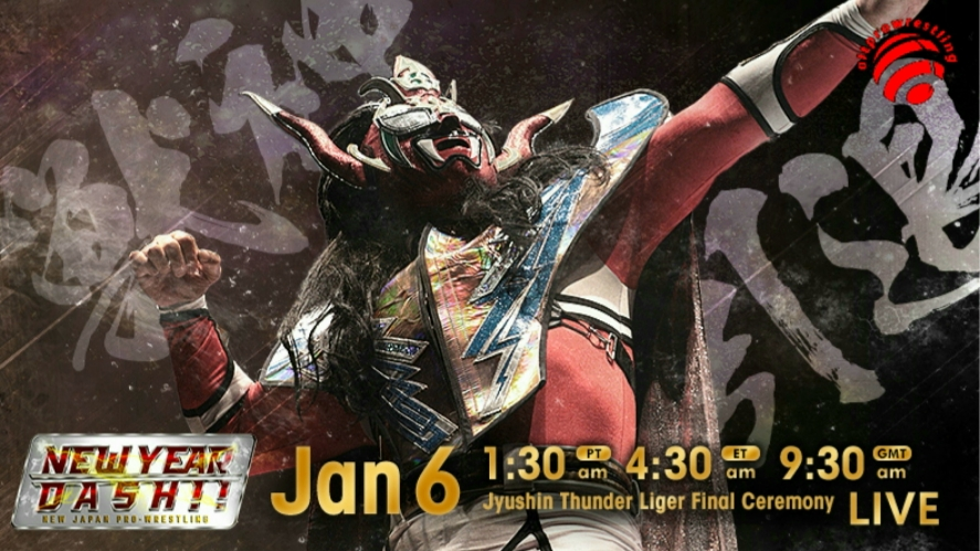 New Japan Pro Wrestling – New Year Dash 2020 – Full Results and Review