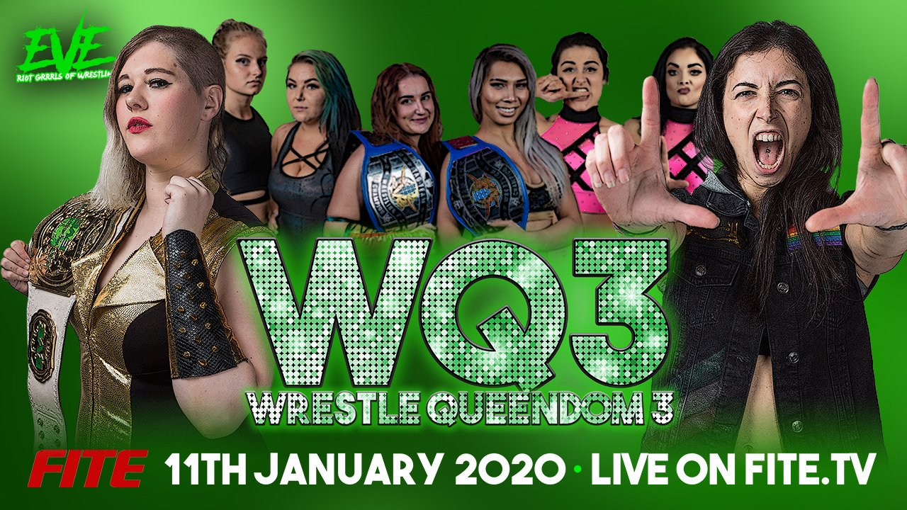 Pro Wrestling Eve – Wrestle Queendom 3 – Preview & Info