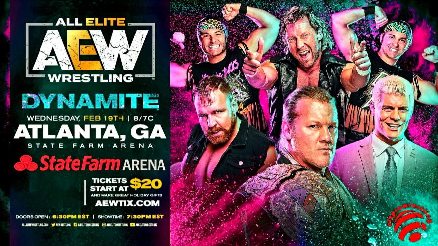 All Elite Wrestling – Dynamite February 19, 2020 – Preview