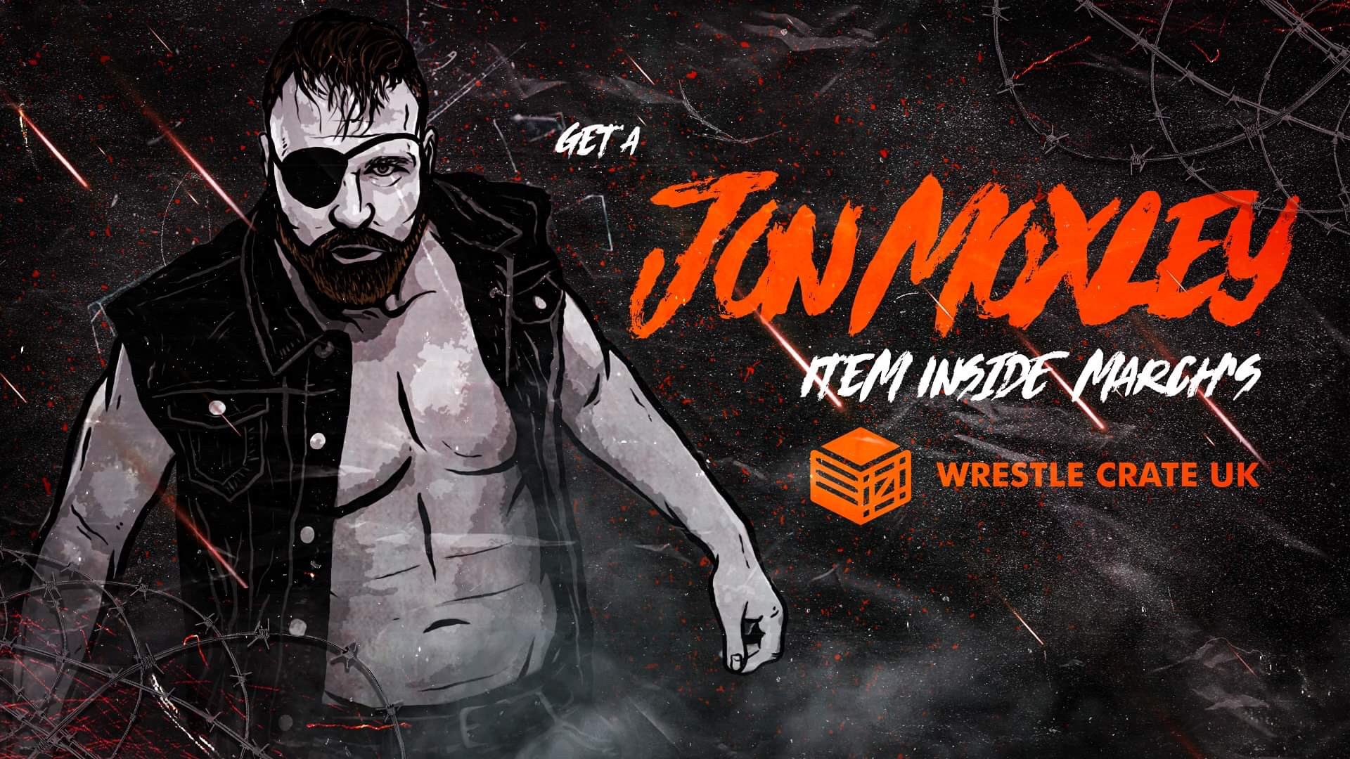 Wrestle Crate UK announces Jon Moxley item for March