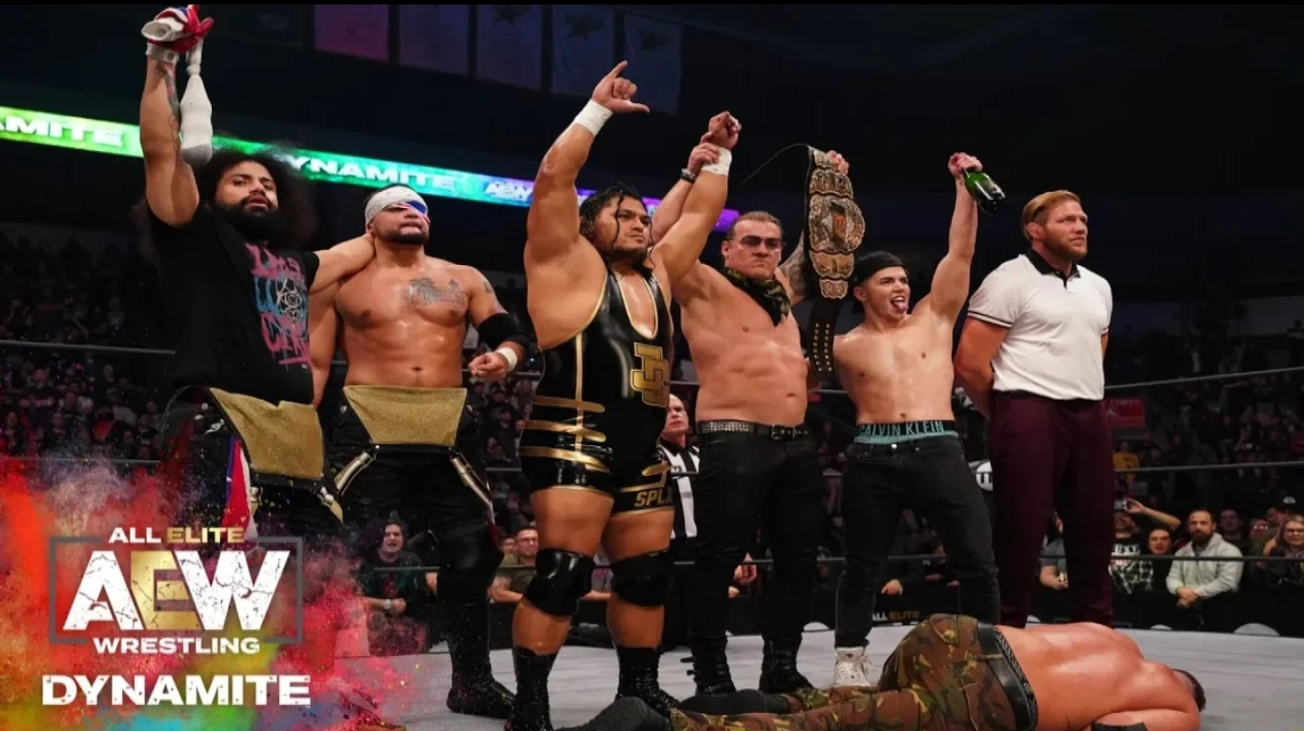 Jeff Cobb leaves his mark in AEW: Video
