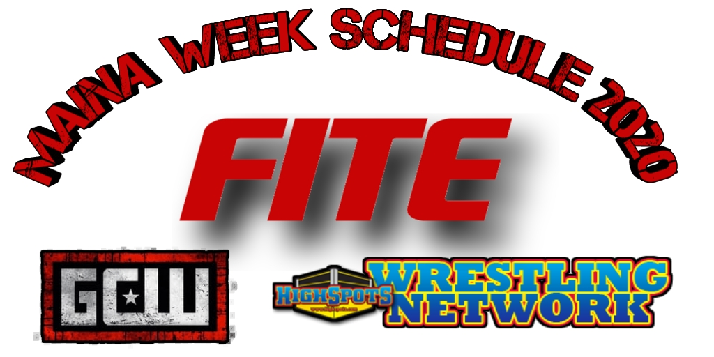 Wrestlemaina Week Schedule