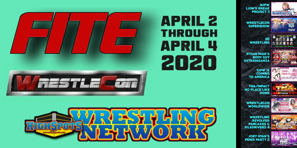 WrestleCon Bundle Available on Fite TV